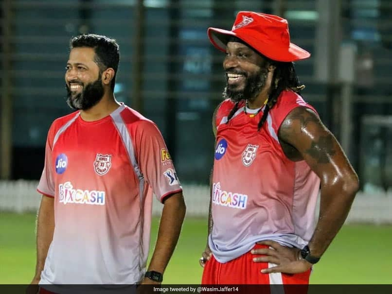 """Never A Dull Moment"": KXIP Coach Wasim Jaffer Hails Chris Gayles Positive Vibes Ahead Of IPL 2020"