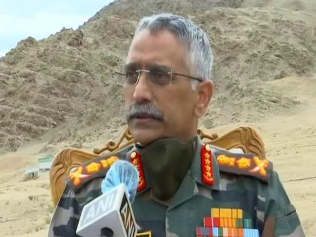 "Video : ""Situation Along LAC Slightly Tense, Precautionary Deployment"": Army Chief"