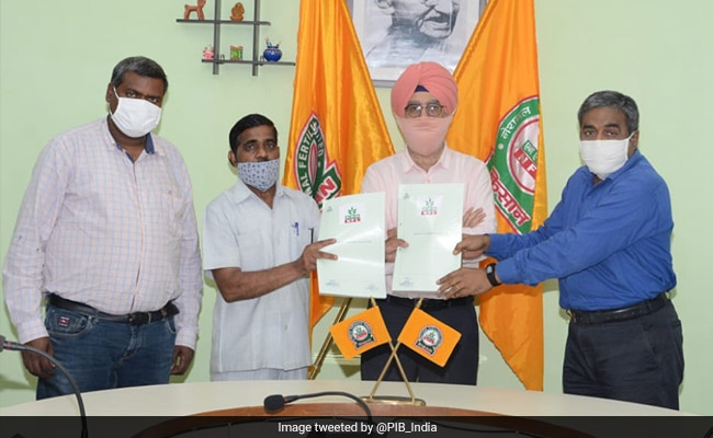 National Fertilizers Limited Ties Up With ITI Raghogarh To Train Youth