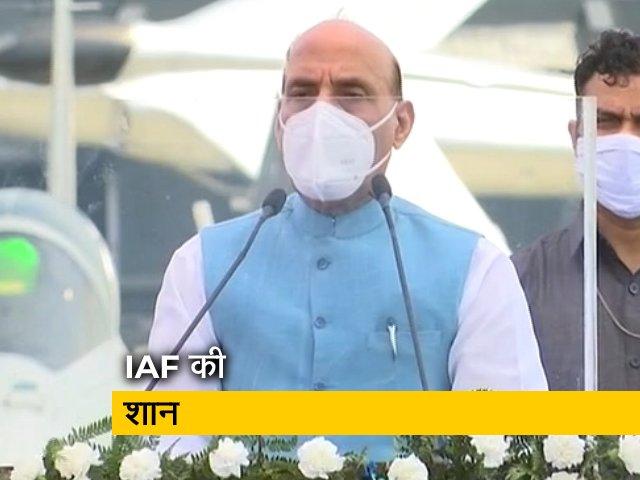 Videos : रफ़ाल का शामिल होना एतिहासिक पल : रक्षामंत्री राजनाथ सिंह