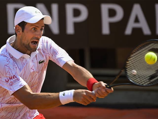 Italian Open Novak Djokovic Wins Fifth Rome Title For Record 36th Masters Crown Tennis News