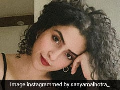 Straight Hair Don't Care! Sanya Malhotra Shows Us How In Her Natural Curls