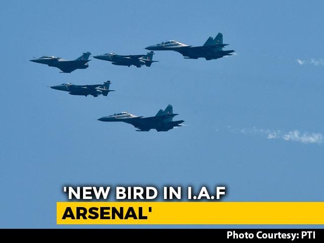Video : Jets' Flypast At Ambala Air Base As 5 Rafales Join Indian Air Force