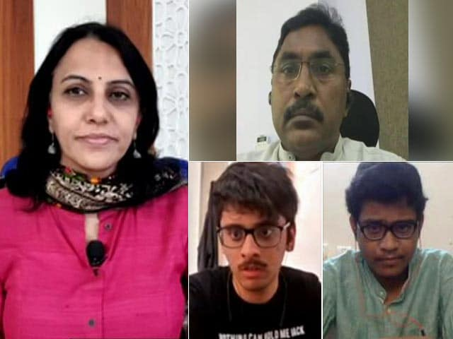 Video : Meet JEE (Mains) Toppers Who Scored 100 Percentile