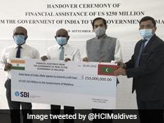 மாலத்தீவுகளுக்கு 250 மில்லியன் டாலர் நிதி வழங்கிய இந்தியா!