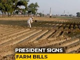 Video : President Signs Farm Bills Passed Amid Unprecedented Drama In Parliament