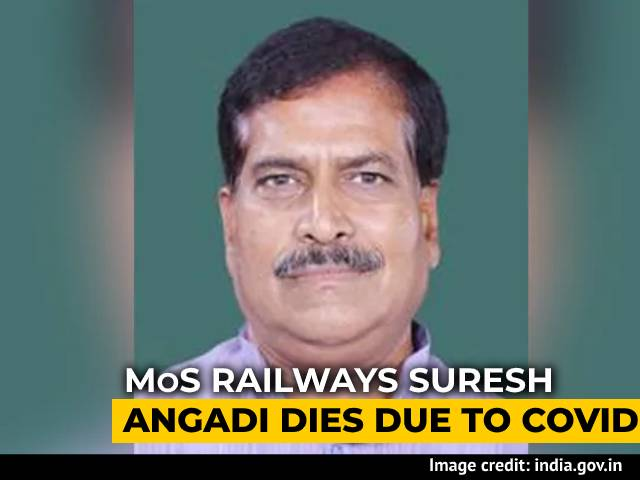 Video : Union Minister Suresh Angadi Dies Of Covid. PM, President Express Grief