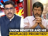 Video : Ramdas Athawale, Governor Meet Over Anurag Kashyap Case: Misplaced Priorities?