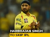 """Video : After Raina, Harbhajan Singh Pulls Out Of IPL, Says """"Personal Reasons"""""""