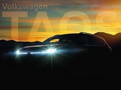 Volkswagen Teases The New Taos Compact SUV For The US Market