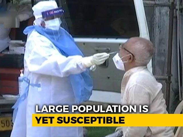 Video : Considerable Population Susceptible To Covid, Shows Sero Survey: Centre