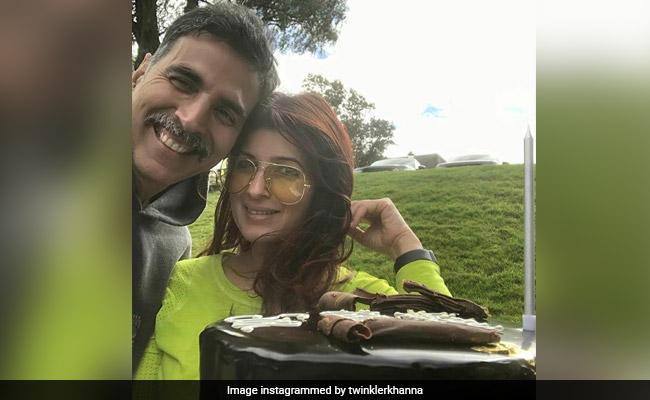 Akshay Kumar's Small Birthday Celebration Had A Big Cake; Twinkle Khanna Shared Pics