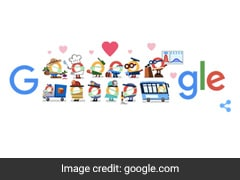 "Google Doodle Says, ""Thank You Coronavirus Helpers"""