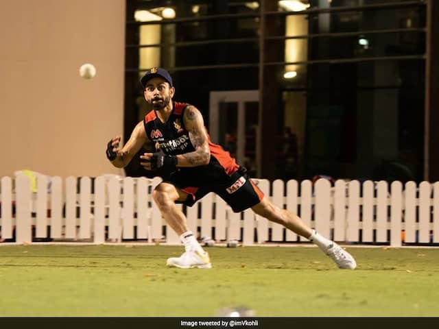 Virat Kohli Looks Fully Focused For IPL 2020 In New Pics From RCB Training