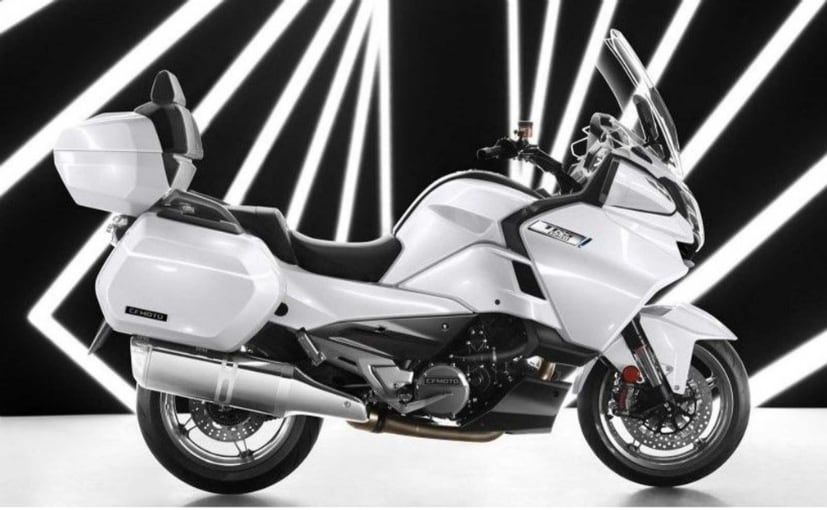 The CFMoto 1250TR-G uses the KTM LC8 v-twin engine