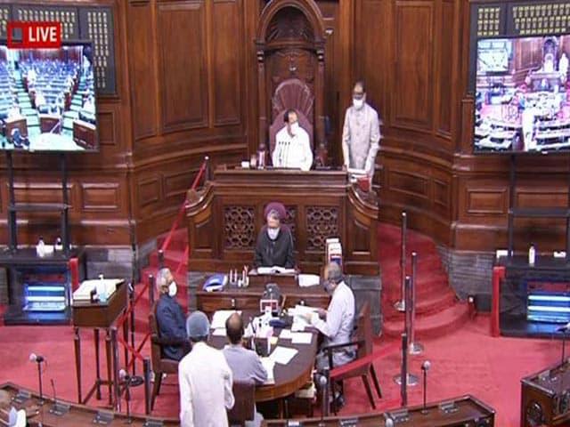 Video : Farm Bills Tabled In Rajya Sabha Amid Protests In Punjab, Haryana