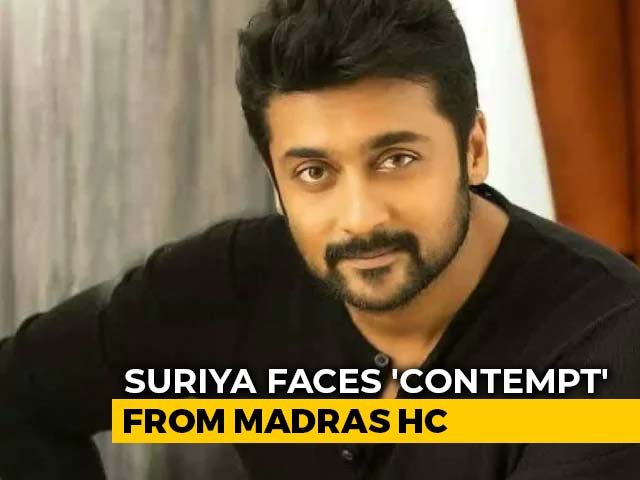 Video : Lost In Translation? Actor Suriya's NEET Comment Is Contempt, Says Judge