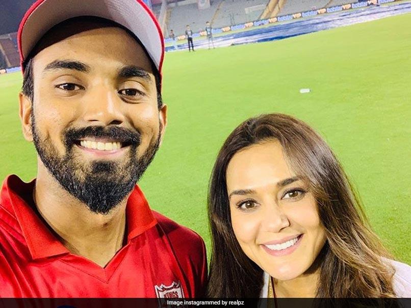 KL Rahul With Preity Zinta (Instagram)