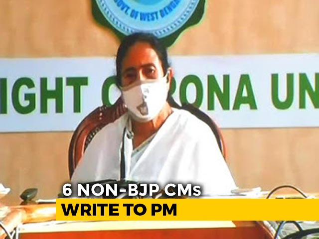 """Video : """"Betrayal"""": Mamata Banerjee, 5 Other Chief Ministers Write To PM Over GST"""