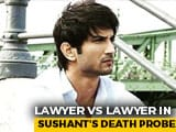 Video : Lawyer vs Lawyer In Sushant Rajput Death Probe Amid 'Strangled' Claims