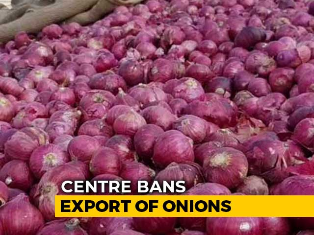 Video : Centre Bans Export Of Onions With Immediate Effect