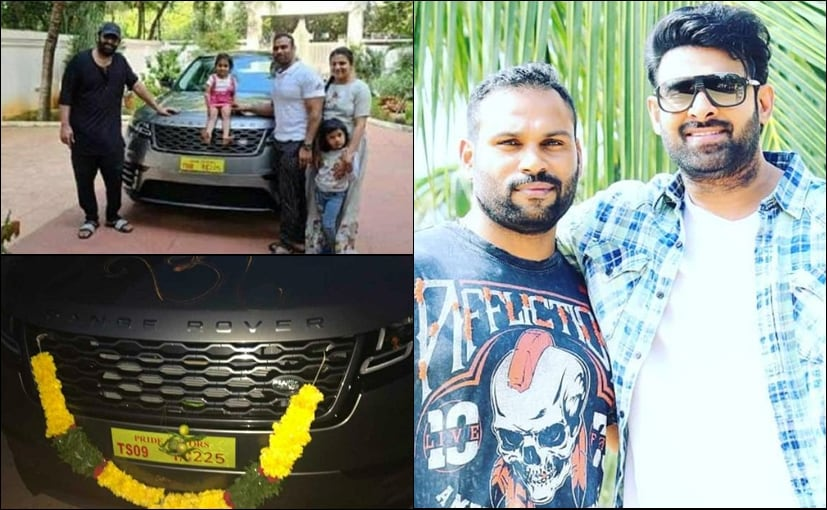 The Range Rover Velar luxury SUV gifted by Prabhas is priced at Rs. 73.30 lakh