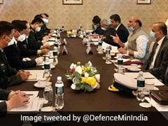 Rajnath Singh, China Defence Minister Meet In Moscow Amid Ladakh Tensions