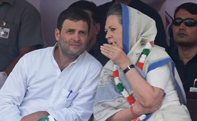 Sonia Gandhi, Son Rahul In Congress Star Campaigners List For Bihar Polls