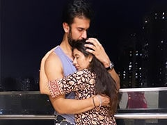 """""""Stronger Together"""": Rajeev Sen Flies To Mumbai To Be With Wife Charu Asopa. See Their Loved-Up Pics"""