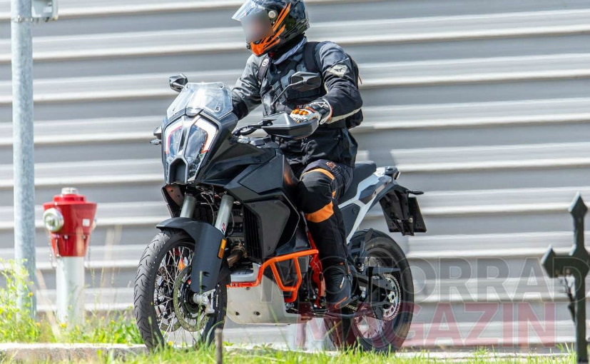The 2021 KTM 1290 Super Adventure will be offered with optional radar-assisted cruise control