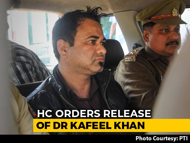 """Video : UP Doctor's Detention Under Tough Law NSA """"Illegal"""", Free Him: High Court"""
