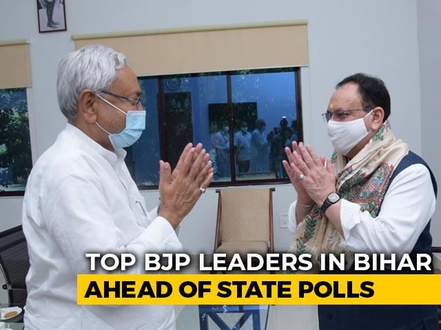 Video : BJP Leaders Meet Nitish Kumar, Informal Talks On Seat-Sharing: Sources