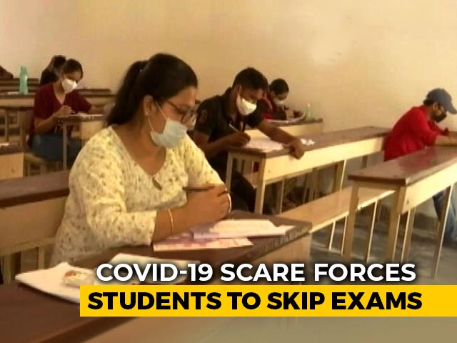 Video : Covid-19 Scare Forces Some Students To Skip JEE, NEET