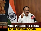 Video : Vice President M Venkaiah Naidu Tests Positive For Coronavirus, Is Asymptomatic