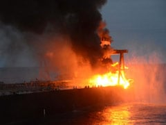 Sri Lanka Navy Says No Real Risk Of Spill After Oil Tanker Fire