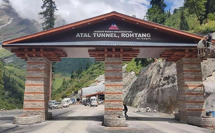 The tunnel will reduce total road distance by 46 km and the travel time by 4 hours.