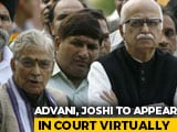 Video : Babri Case Verdict Today, LK Advani, MM Joshi, Uma Bharti To Skip Court