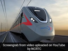 First Look Of High-Speed Train For Delhi-Meerut Rail Corridor Unveiled