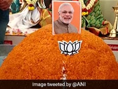 70 Kg <i>Laddu</i> Offered At Coimbatore Temple To Mark PM Modi's 70th Birthday