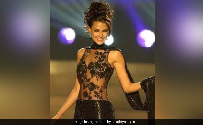 A Trip Down Memory Lane With Neha Dhupia - See Pic From Miss Universe 2002