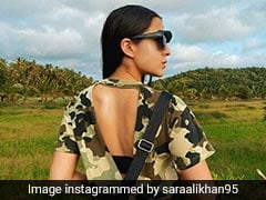 Sara Ali Khan's Monday Mood In Camouflage Is Every Shade Of Stylish