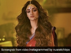 Trinamool MP Nusrat Jahan Threatened For Social Media Photos Dressed As Goddess Durga