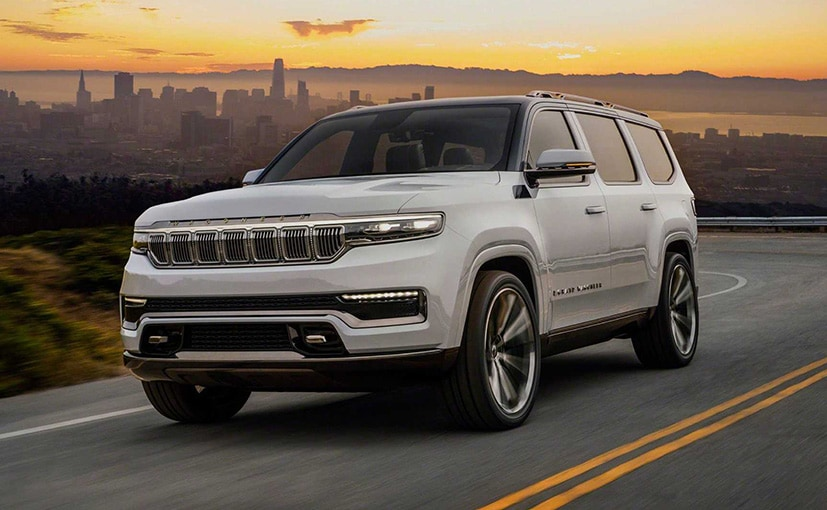 The new Jeep Wagoneer will go on sale in 2022.
