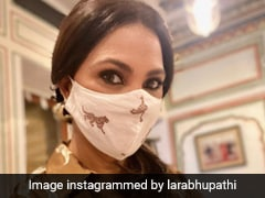 How Lara Dutta Keeps Her Mask Game And Style Quotient Super Strong And Sassy