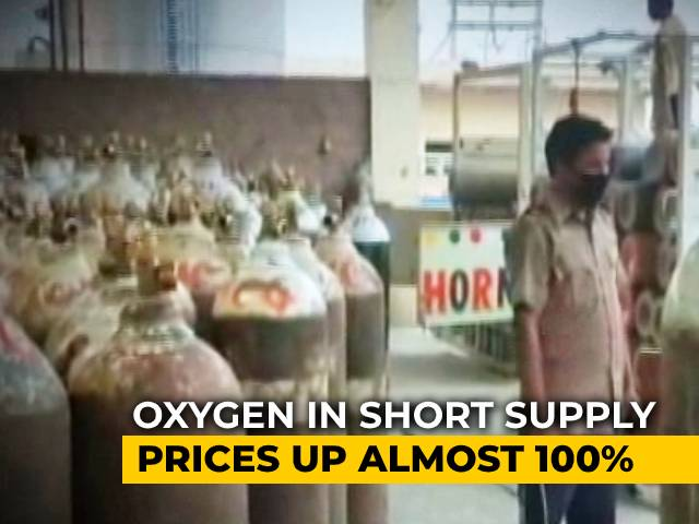 Video : COVID-19 Patients Gasp For Breath, Oxygen Prices Shoot Up