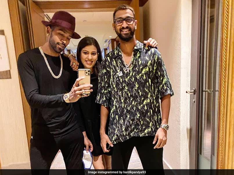 "Hardik Pandyas ""3 Musketeers"" Post With Krunal And His Wife Gets Natasa Stankovics Reaction"