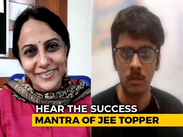 Video : What It Takes To Crack JEE Exams? Topper Explains To NDTV