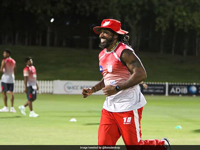 Chris Gayle Sports Big Smile And Kings XI Punjab Come Up With A Funny Response