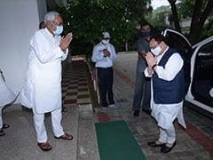 बिहार चुनाव की बिसात बिछाने के लिए मिले BJP अध्यक्ष जेपी नड्डा और CM नीतीश कुमार