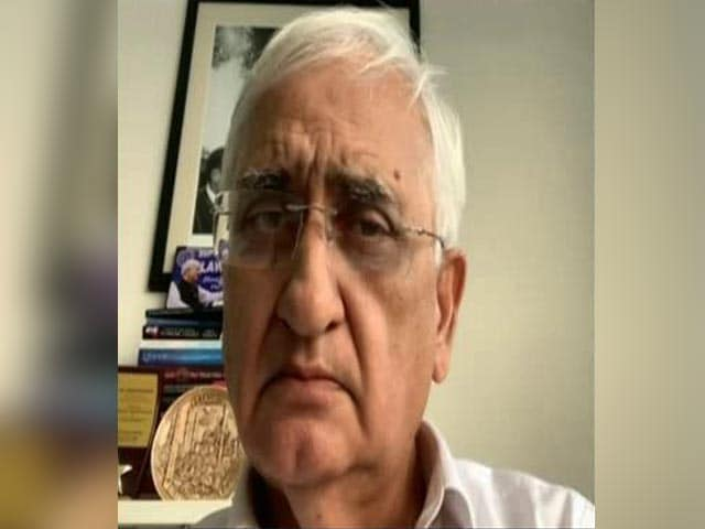 Video : 'Is Fighting For Rights A Crime?': Salman Khurshid